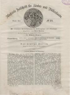 Globus. Illustrierte Zeitschrift für Länder...Bd. XLI, Nr.23, 1882