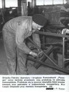 """Fabryka Aparatury i Urządzeń Komunalnych """"Powogaz"""" w Ornecie"""