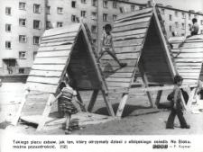 """Plac zabaw dla dzieci – osiedle """"Na Stoku"""" w Elblągu"""