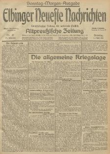 Elbinger Neueste Nachrichten, Nr.65 Sonntag 7 März 1915 67. Jahrgang