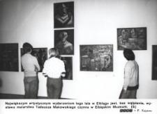 Wystawa malarstwa Tadeusza Makowskiego w Muzeum (Elbląg)