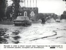 Deszczowe lato w Elblągu