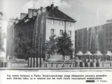Fontanna w Parku Świerczewskiego w Elblągu