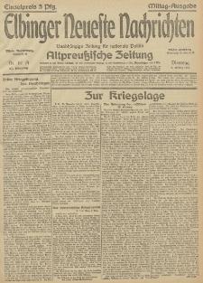 Elbinger Neueste Nachrichten, Nr.67 Dienstag 9 März 1915 67. Jahrgang