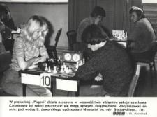 Sekcja szachowa w Prabutach