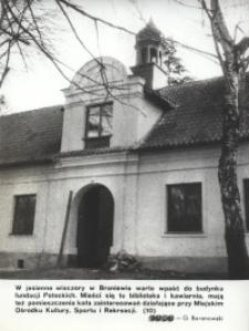 Budynek fundacji Potockich w Braniewie