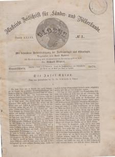 Globus. Illustrierte Zeitschrift für Länder...Bd. XXXVI, Nr.1, 1879