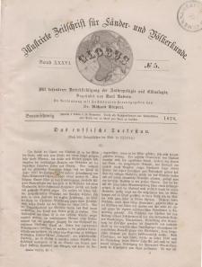 Globus. Illustrierte Zeitschrift für Länder...Bd. XXXVI, Nr.5, 1879