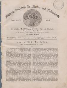Globus. Illustrierte Zeitschrift für Länder...Bd. XXXVI, Nr.6, 1879