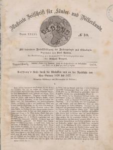Globus. Illustrierte Zeitschrift für Länder...Bd. XXXVI, Nr.10, 1879