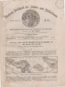 Globus. Illustrierte Zeitschrift für Länder...Bd. XXXVI, Nr.11, 1879