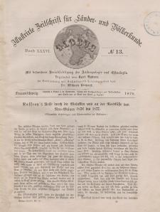 Globus. Illustrierte Zeitschrift für Länder...Bd. XXXVI, Nr.13, 1879