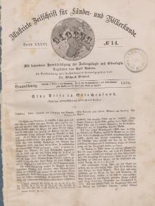 Globus. Illustrierte Zeitschrift für Länder...Bd. XXXVI, Nr.14, 1879