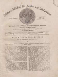 Globus. Illustrierte Zeitschrift für Länder...Bd. XXXVI, Nr.15, 1879