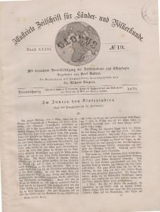 Globus. Illustrierte Zeitschrift für Länder...Bd. XXXVI, Nr.19, 1879