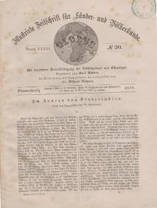 Globus. Illustrierte Zeitschrift für Länder...Bd. XXXVI, Nr.20, 1879