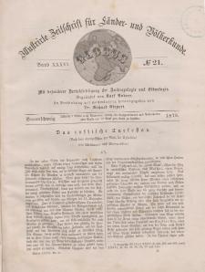 Globus. Illustrierte Zeitschrift für Länder...Bd. XXXVI, Nr.21, 1879