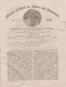 Globus. Illustrierte Zeitschrift für Länder...Bd. XXXVI, Nr.22, 1879