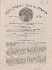 Globus. Illustrierte Zeitschrift für Länder...Bd. XXXVI, Nr.23, 1879