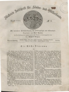 Globus. Illustrierte Zeitschrift für Länder...Bd. XXIX, Nr.3, 1876
