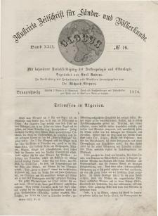 Globus. Illustrierte Zeitschrift für Länder...Bd. XXIX, Nr.16, 1876