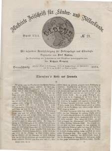 Globus. Illustrierte Zeitschrift für Länder...Bd. XXIX, Nr.21, 1876