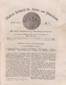 Globus. Illustrierte Zeitschrift für Länder...Bd. XXIII, Nr.3, 1873