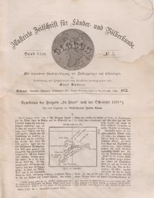 Globus. Illustrierte Zeitschrift für Länder...Bd. XXIII, Nr.5, 1873