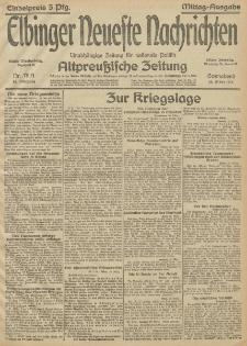 Elbinger Neueste Nachrichten, Nr.78 Sonnabend 20 März 1915 67. Jahrgang