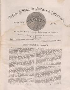 Globus. Illustrierte Zeitschrift für Länder...Bd. XXIII, Nr.13, 1873