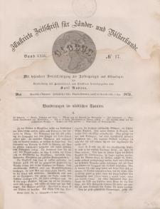 Globus. Illustrierte Zeitschrift für Länder...Bd. XXIII, Nr.17, 1873