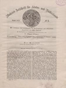 Globus. Illustrierte Zeitschrift für Länder...Bd. XLII, Nr.2, 1882