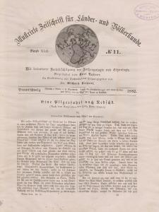 Globus. Illustrierte Zeitschrift für Länder...Bd. XLII, Nr.11, 1882
