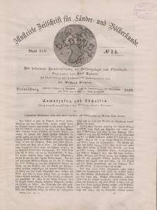 Globus. Illustrierte Zeitschrift für Länder...Bd. XLII, Nr.14, 1882
