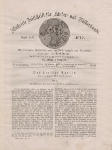 Globus. Illustrierte Zeitschrift für Länder...Bd. XLII, Nr.17, 1882