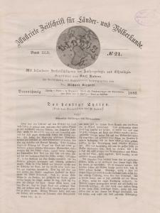 Globus. Illustrierte Zeitschrift für Länder...Bd. XLII, Nr.21, 1882