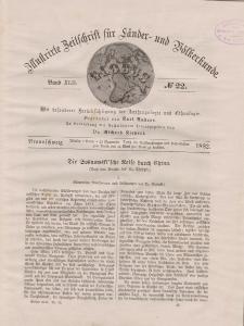Globus. Illustrierte Zeitschrift für Länder...Bd. XLII, Nr.22, 1882