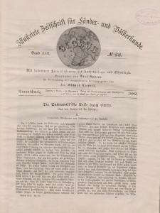 Globus. Illustrierte Zeitschrift für Länder...Bd. XLII, Nr.23, 1882