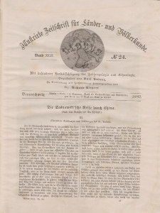 Globus. Illustrierte Zeitschrift für Länder...Bd. XLII, Nr.24, 1882