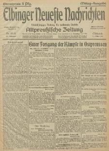 Elbinger Neueste Nachrichten, Nr.89 Mittwoch 31 März 1915 67. Jahrgang
