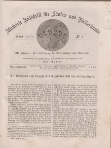 Globus. Illustrierte Zeitschrift für Länder...Bd. XXVIII, Nr.5, 1875