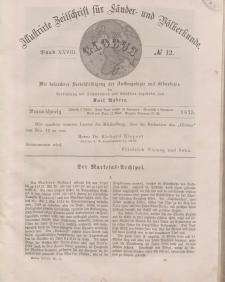 Globus. Illustrierte Zeitschrift für Länder...Bd. XXVIII, Nr.12, 1875