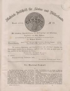 Globus. Illustrierte Zeitschrift für Länder...Bd. XXVIII, Nr.13, 1875