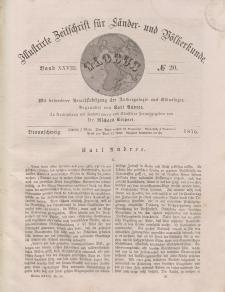 Globus. Illustrierte Zeitschrift für Länder...Bd. XXVIII, Nr.20, 1875