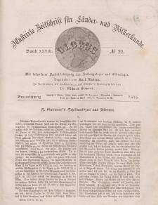 Globus. Illustrierte Zeitschrift für Länder...Bd. XXVIII, Nr.22, 1875