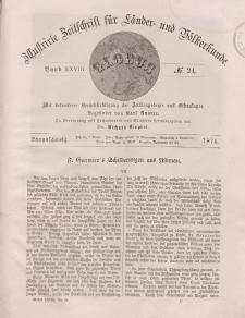 Globus. Illustrierte Zeitschrift für Länder...Bd. XXVIII, Nr.24, 1875
