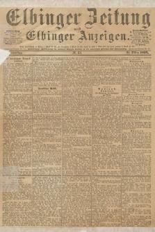 Elbinger Zeitung und Elbinger Anzeigen, Nr. 68 Donnerstag 21. März 1895
