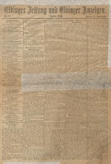 Elbinger Zeitung und Elbinger Anzeigen, Nr. 87 Freitag 12. April 1895