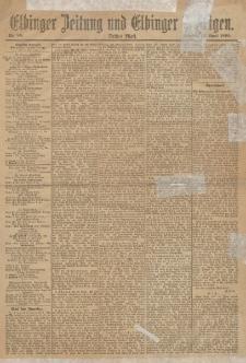 Elbinger Zeitung und Elbinger Anzeigen, Nr. 88 Sonntag 14. April 1895