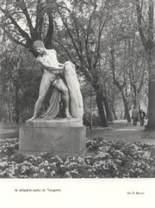 Posąg Tezeusza w Elblągu